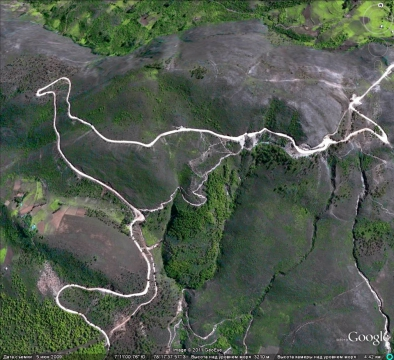 Дорога в виде птички Перу
