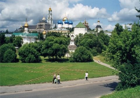 Вид на Лавру с Блинной горы - Галина Ивановна Куколева