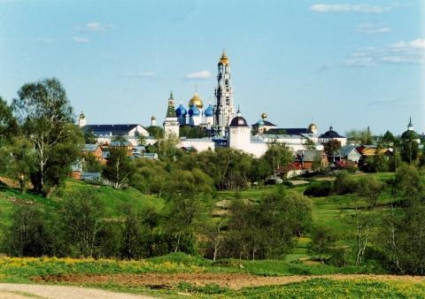 Вид на Лавру с северо-запада - Галина Ивановна Куколева