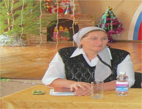 В СОШ №18 - Малика Алаудиевна Аюбова