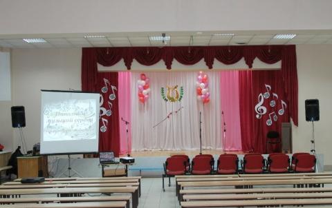 Оформление зала к вечеру встречи выпускников своими руками