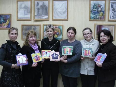 Фото с мастер-класса - Ирина Валентиновна Богатырева