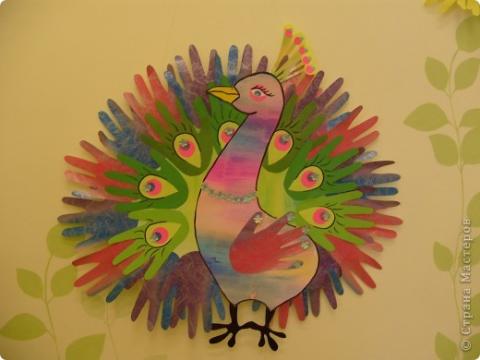 Сказочная птица из бумаги своими руками