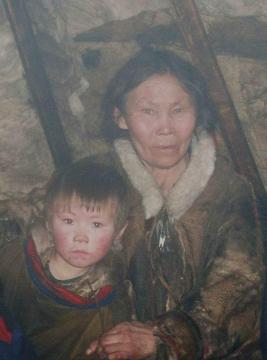 Ненецкая бабушка и её внучок - Эльдар Алихасович Ахадов