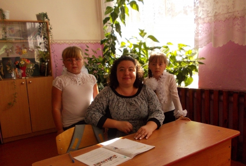 с моими ученицами 2 класс - Оксана Александровна Копцева