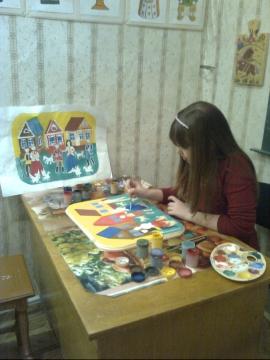 роспись панно - Ольга Ольга Рукосуева Рукосуева