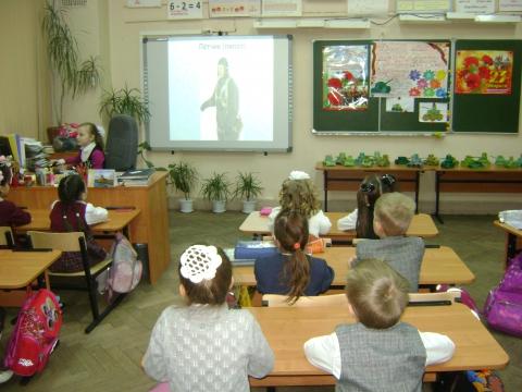 У нас в гостях первоклашки - Ольга Игоревна Баранцева